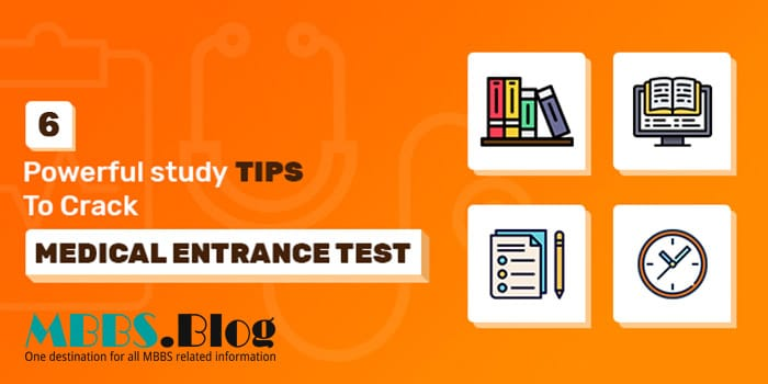 Effective Study Tips to Crack Medical Entrance Test