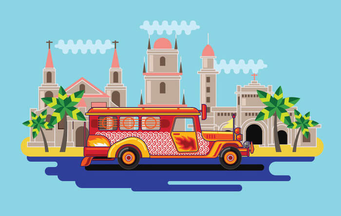 Jeepneys: Popular transport of Philippines